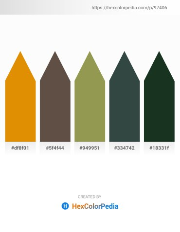 Palette image download - Dark Orange – Dim Gray – Dark Khaki – Dark Slate Gray – Dark Slate Gray