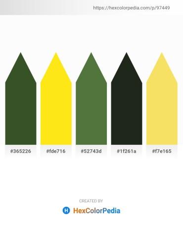 Palette image download - Dark Olive Green – Gold – Dark Olive Green – Dark Slate Gray – Khaki