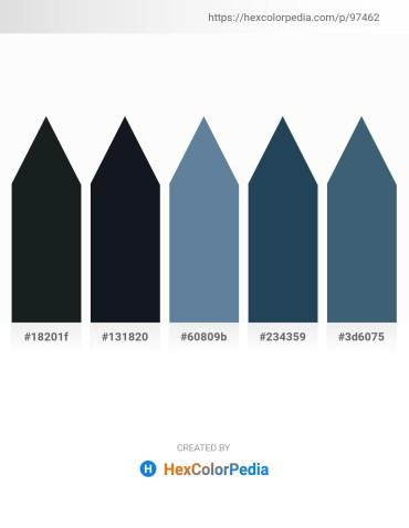 Palette image download - Dark Slate Gray – Dark Gray – Cadet Blue – Dark Slate Gray – Dark Slate Gray