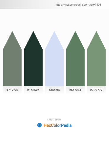 Palette image download - Slate Gray – Dark Slate Gray – Lavender – Cadet Blue – Dark Sea Green