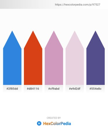 Palette image download - Royal Blue – Chocolate – Plum – Thistle – Dark Slate Blue