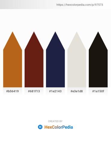 Palette image download - Chocolate – Saddle Brown – Light Gray – Gainsboro – Black