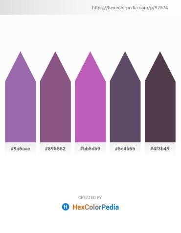 Palette image download - Light Slate Gray – Light Slate Gray – Orchid – Dark Slate Blue – Dim Gray