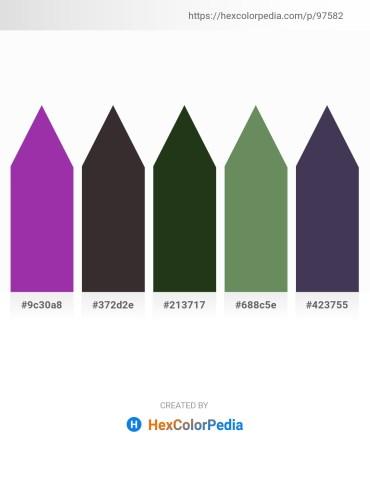 Palette image download - Dark Orchid – Black – Dark Olive Green – Saddle Brown – Saddle Brown