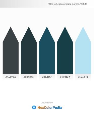 Palette image download - Dark Slate Gray – Dark Slate Gray – Coral – Light Salmon – Pale Turquoise