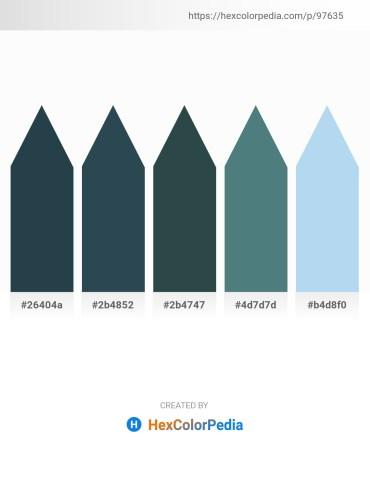 Palette image download - Dark Slate Gray – Dark Slate Gray – Dark Slate Gray – Cadet Blue – Pale Turquoise