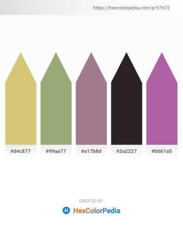 Palette image download - Burlywood – Dark Sea Green – Rosy Brown – Black – Beige