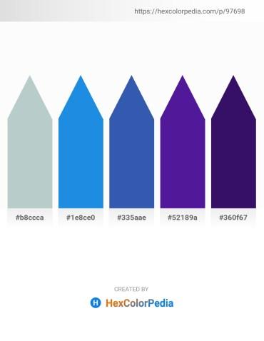 Palette image download - Light Steel Blue – Royal Blue – Steel Blue – Midnight Blue – Midnight Blue