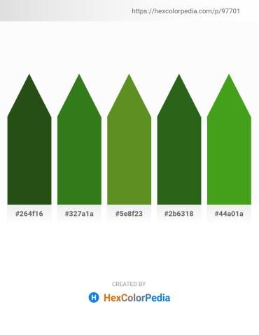 Palette image download - Dark Slate Gray – Forest Green – Olive Drab – Forest Green – Forest Green