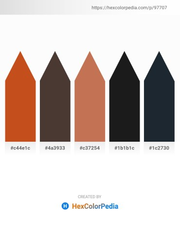 Palette image download - Chocolate – Olive Drab – Indian Red – Olive Drab – Dark Slate Gray