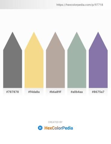 Palette image download - Gray – Khaki – Dark Gray – Dark Sea Green – Light Slate Gray