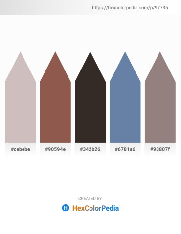 Palette image download - Silver – Sienna – Black – Dark Sea Green – Gray