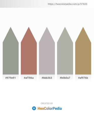 Palette image download - Dark Sea Green – Rosy Brown – Silver – Dark Gray – Dark Khaki