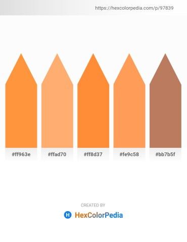 Palette image download - Coral – Light Salmon – Coral – Coral – Indian Red