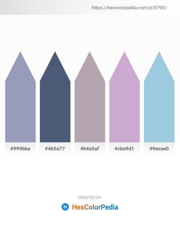 Palette image download - Light Slate Gray – Dark Slate Blue – Dark Gray – Light Steel Blue – Light Blue