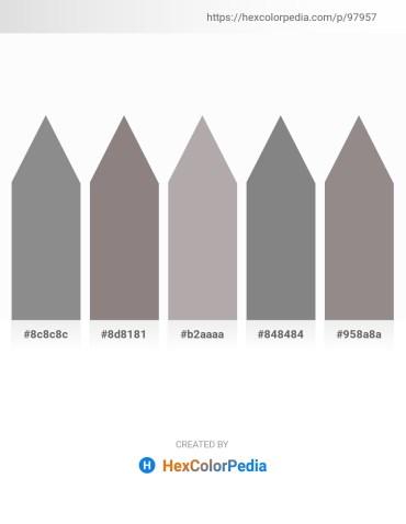 Palette image download - Gray – Gray – Dark Gray – Gray – Gray