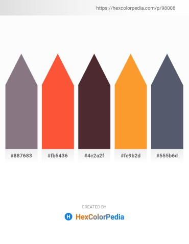 Palette image download - Gray – Tomato – Sienna – Coral – Slate Gray
