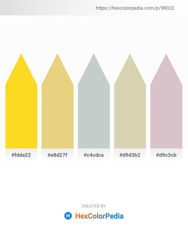 Palette image download - Gold – Khaki – Dark Sea Green – Tan – Thistle