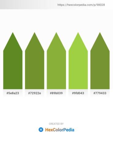 Palette image download - Olive Drab – Olive Drab – Yellow Green – Yellow Green – Olive Drab