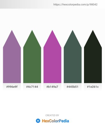 Palette image download - Gray – Dark Olive Green – Orchid – Dark Slate Gray – Dark Slate Gray