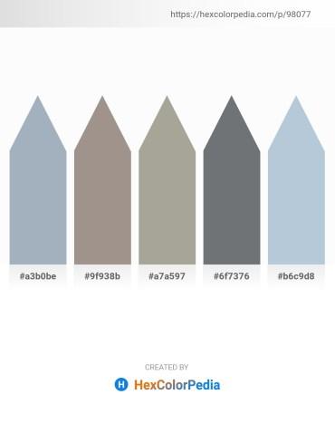 Palette image download - Light Slate Gray – Gray – Dark Gray – Slate Gray – Light Steel Blue