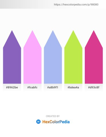 Palette image download - Slate Blue – Pink – Sky Blue – Green Yellow – Pale Violet Red