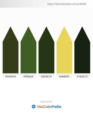 Palette image download - Dark Olive Green – Dark Olive Green – Dark Olive Green – Khaki – Dark Slate Gray