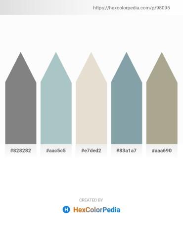 Palette image download - Gray – Dark Sea Green – Beige – Light Slate Gray – Indian Red