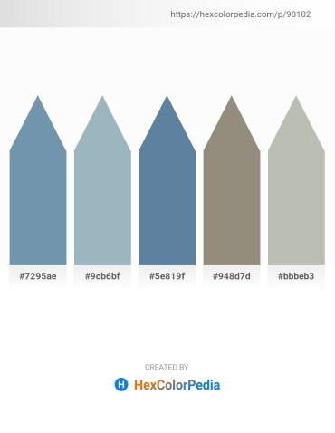 Palette image download - Cadet Blue – Light Steel Blue – Cadet Blue – Gray – Silver