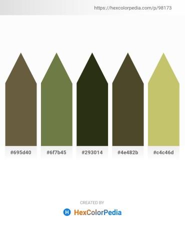 Palette image download - Dark Olive Green – Dark Olive Green – Yellow Green – Dark Olive Green – Dark Khaki
