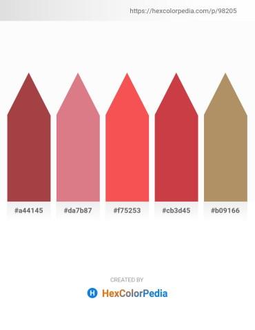 Palette image download - Sienna – Pale Violet Red – Tomato – Indian Red – Dark Khaki