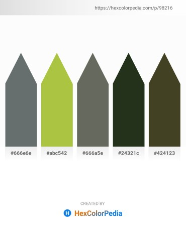 Palette image download - Slate Gray – Yellow Green – Dim Gray – Dim Gray – Dark Olive Green
