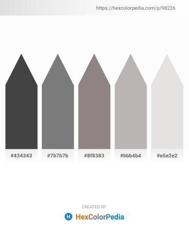 Palette image download - Dim Gray – Gray – Gray – Silver – Gainsboro