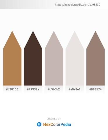 Palette image download - Dark Goldenrod – Sienna – Silver – Gainsboro – Gray