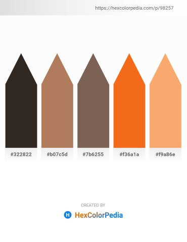 Palette image download - Black – Dark Olive Green – Dim Gray – Dark Orange – Sandy Brown