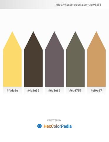 Palette image download - Gold – Goldenrod – Dim Gray – Dim Gray – Burlywood