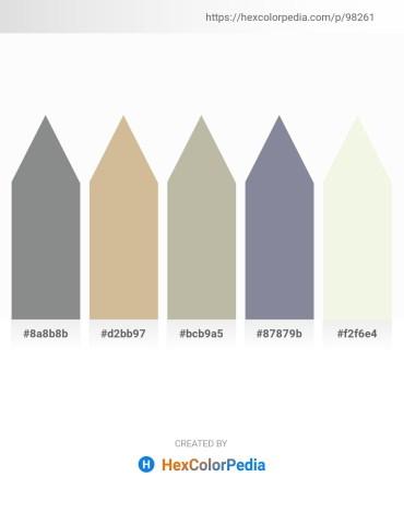 Palette image download - Slate Gray – Tan – Dark Gray – Light Slate Gray – Beige