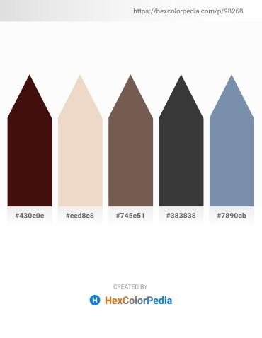 Palette image download - Turquoise – Beige – Dim Gray – Dim Gray – Light Slate Gray