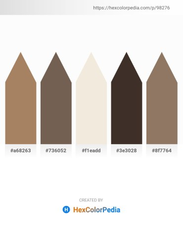 Palette image download - Rosy Brown – Dim Gray – Beige – Olive Drab – Gray