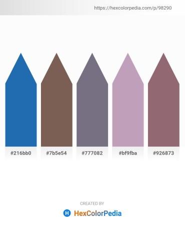 Palette image download - Royal Blue – Dim Gray – Slate Gray – Thistle – Gray