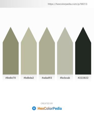 Palette image download - Gray – Slate Gray – Dark Gray – Silver – Dark Slate Gray
