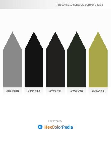 Palette image download - Gray – Burlywood – Black – Dark Slate Gray – Dark Khaki