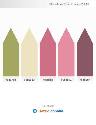 Palette image download - Dark Khaki – Beige – Pale Violet Red – Pale Violet Red – Dim Gray