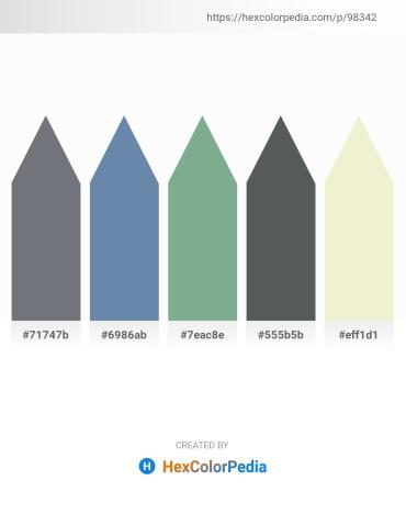 Palette image download - Slate Gray – Cadet Blue – Dark Sea Green – Dark Slate Gray – Beige