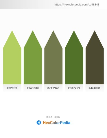Palette image download - Yellow Green – Olive Drab – Dark Olive Green – Dark Olive Green – Dark Olive Green