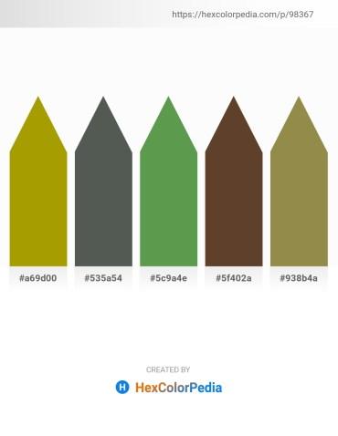 Palette image download - Olive – Dark Slate Gray – Dark Olive Green – Light Slate Gray – Dark Khaki