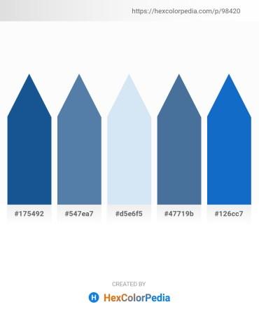 Palette image download - Midnight Blue – Steel Blue – Lavender – Steel Blue – Royal Blue
