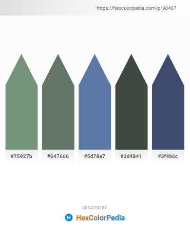 Palette image download - Dark Sea Green – Slate Gray – Beige – Dark Slate Gray – Dark Slate Gray