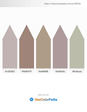 Palette image download - Silver – Rosy Brown – Rosy Brown – Dark Gray – Silver