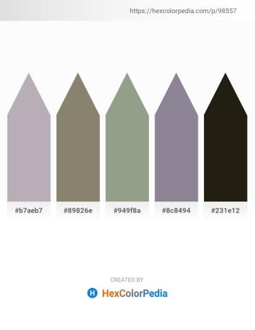 Palette image download - Dark Gray – Gray – Dark Sea Green – Light Slate Gray – Dim Gray